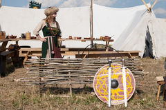 справедливое средневековое Стоковые Изображения RF