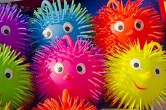 справедливые резиновые игрушки стоковая фотография rf