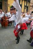 справедливый фольклор prague празднества 3 Стоковые Изображения