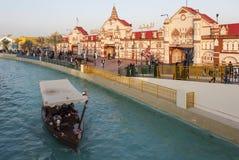 Справедливая глобальная деревня (деревня мира) Дубай арабские соединенные эмираты стоковое изображение