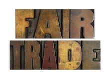 справедливая торговля стоковая фотография