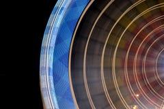 Справедливое колесо ferris на ноче Стоковые Фото