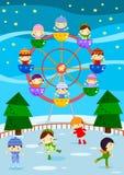 справедливая зима Стоковые Изображения