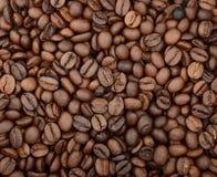 Справочная информация макрос кофе завтрака фасолей идеально изолированный над белизной душистый запах brougham armoring стоковое изображение