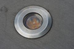 Справьтесь свет который приведет путь на ноче Стоковое фото RF