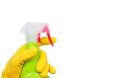 спрейер руки перчатки Стоковая Фотография