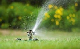 спринклер лужайки Стоковое Фото
