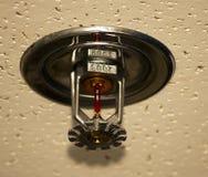 спринклер пожара потолка Стоковое фото RF