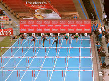 спринтеры Стоковая Фотография