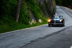 Спринт 1900 ROMEO c АЛЬФЫ супер путешествуя 1955 Стоковое Фото