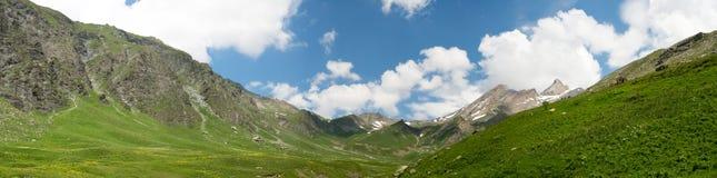 спрятанная долина Стоковая Фотография RF