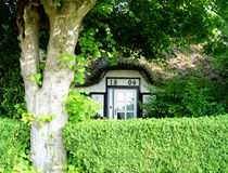 спрятанная дом стоковое изображение rf