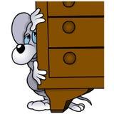 Спрятанная мышь Стоковые Фотографии RF