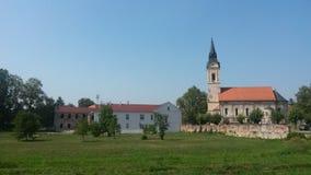 Спрятанная церковь в Pakrac Стоковое Изображение RF
