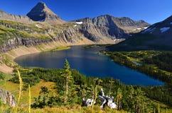 Спрятанное озеро Стоковое фото RF
