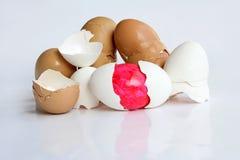 Спрятанное пасхальное яйцо Стоковое Изображение