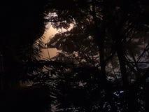 Спрятанное солнце Стоковые Фотографии RF