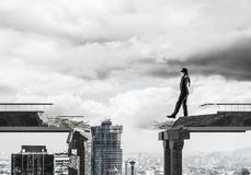 Спрятанные риски и концепция опасностей Стоковое Изображение