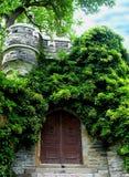 спрятанный вход Стоковые Фото