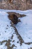 Спрятанный выход крепости Стоковое фото RF