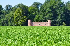 Спрятанный замок Стоковое Изображение RF