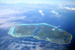 спрятанный остров Стоковая Фотография