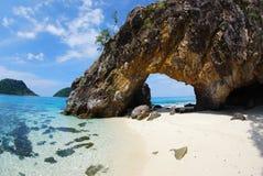 Спрятанный остров. Стоковая Фотография RF
