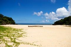 спрятанный пляж Стоковые Фотографии RF