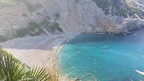 спрятанный пляж Стоковое Изображение RF