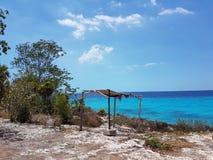 спрятанный пляж стоковые фото