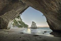 спрятанный пляж Стоковое фото RF