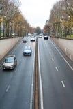 Спуск к тоннелю дороги Стоковое Изображение RF