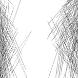 Спутанная текстура тонких линий иллюстрация штока