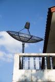 Спутниковая антенна-тарелка Стоковое фото RF