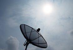 Спутниковая антенна-тарелка 4 Стоковое Изображение RF