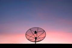 Спутниковая антенна-тарелка Стоковые Изображения RF