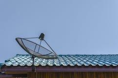 Спутниковая антенна-тарелка Стоковая Фотография RF
