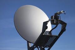 Спутниковая антенна-тарелка. Стоковые Изображения RF