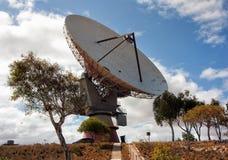 Спутниковая антенна-тарелка Carnarvon Стоковое фото RF