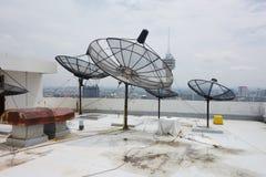 Спутниковые антенна-тарелки Стоковая Фотография RF