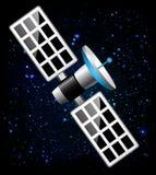 Спутниковый космос иллюстрация вектора