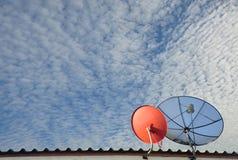 Спутник связи Стоковые Фотографии RF