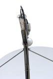 спутник тарелки антенны Стоковое фото RF