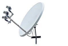 спутник тарелки антенны Стоковая Фотография RF