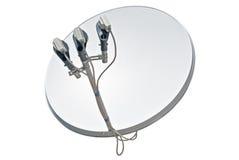 спутник тарелки антенны Стоковые Изображения