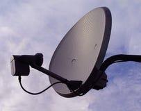 спутник тарелки Стоковое Фото