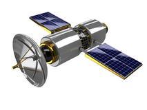 спутник широковещания иллюстрация вектора