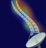 спутник 3 данных Стоковое Изображение