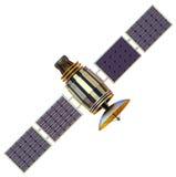 Спутник Стоковые Изображения
