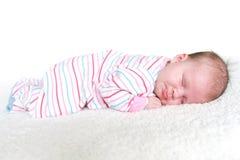 Спящ 1 месяц младенца Стоковое Изображение RF